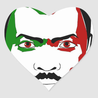 Marcus garvey I Heart Sticker