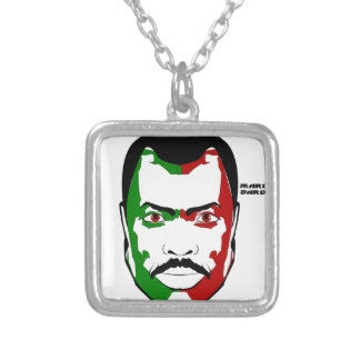 Marcus garvey I Silver Plated Necklace