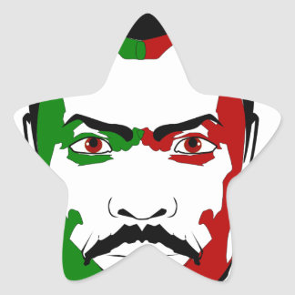 Marcus garvey I Star Sticker