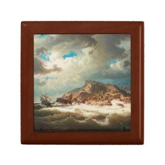Marcus Larson - Ship by the Coast Gift Box