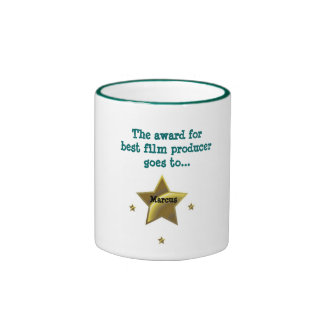 MARCUS: The Award For Best Film Producer Ringer Coffee Mug