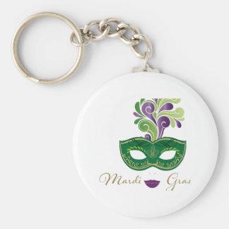 Mardi Gras 18.2 Keychain