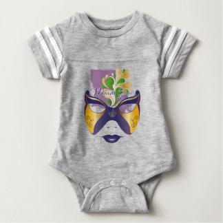 Mardi Gras 18.3 Baby Bodysuit