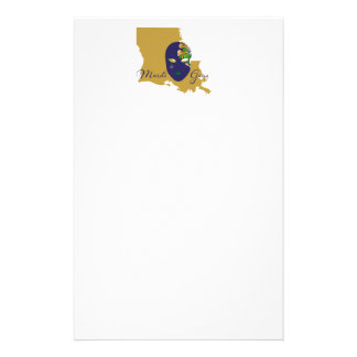 Mardi Gras 18.4 Stationery