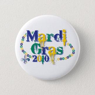 Mardi Gras 2010 beads bc 2 Inch Round Button
