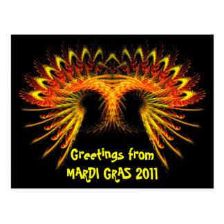Mardi Gras 2011 Postcard