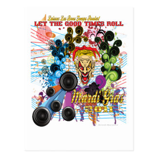 Mardi-Gras 2011 The Joker II Postcard