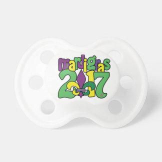 Mardi Gras 2017 Baby Pacifier