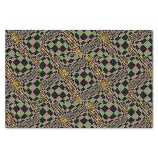 Mardi Gras 2017 Purple, Green and Gold Argyle Tissue Paper