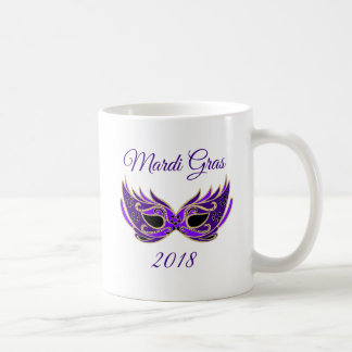 Mardi Gras 2018 Mask Coffee Mug
