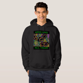 MARDI GRAS ALL NIGHT HOODIE