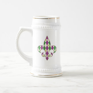 Mardi Gras Argyle Mug