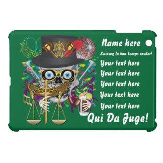 Mardi Gras Award Plaque Gift notes view iPad Mini Case
