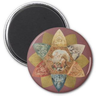 Mardi Gras Ball Vintage Favor Magnet