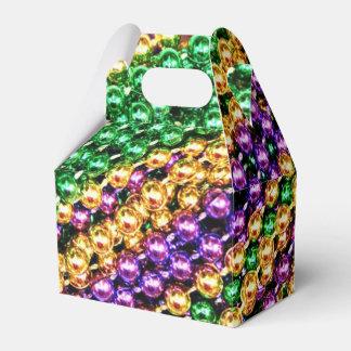 Mardi Gras Beads Favor Box