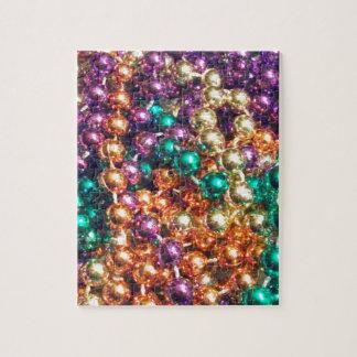 Mardi Gras Beads Jigsaw Puzzle