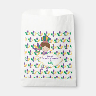 Mardi Gras Birthday Party For Girl Favour Bag