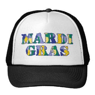 Mardi Gras Camo Trucker Hat