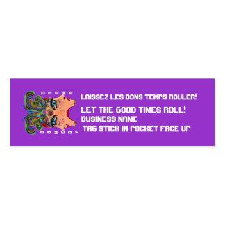 Mardi Gras Carnival Event  Please View Notes Mini Business Card
