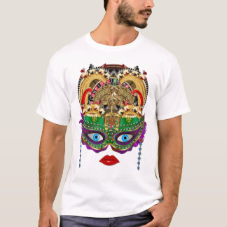 Mardi Gras Casino Queen 2 Plse View Artist Comment T-Shirt