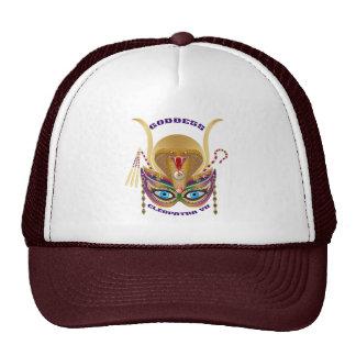 Mardi Gras Cleopatra-VII Read About Design Below Trucker Hat