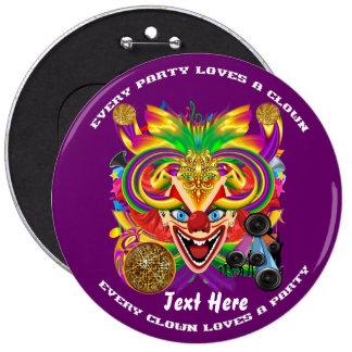 Mardi Gras Clown  view notes please Pin