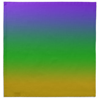 Mardi Gras Colors New Orleans Napkin
