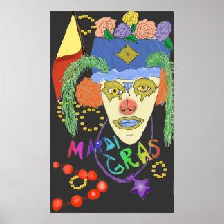 Mardi Gras Design 1 Poster