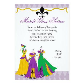 Fashion designer clothes invitations announcements zazzle canada mardi gras dress shop card stopboris Choice Image