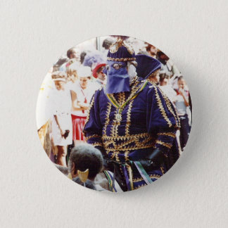 Mardi Gras Duke 2 Inch Round Button