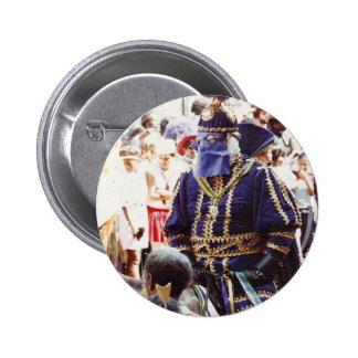 Mardi Gras Duke 2 Inch Round Button
