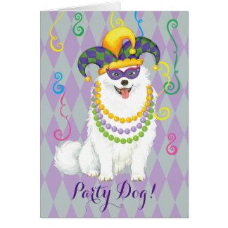 Mardi Gras Eskie Card