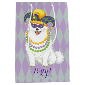 Mardi Gras Eskie Medium Gift Bag