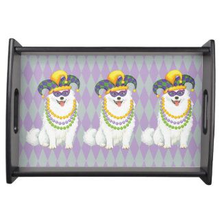 Mardi Gras Eskie Serving Tray