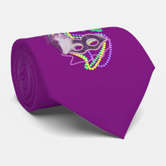 Mardi Gras Fat Tuesday 2018 Celebration Costume Tie