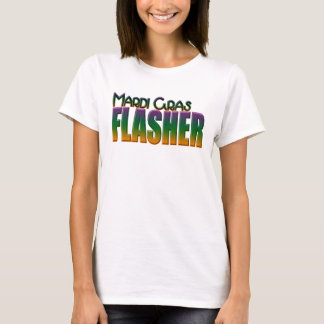 Mardi Gras Flasher T-Shirt