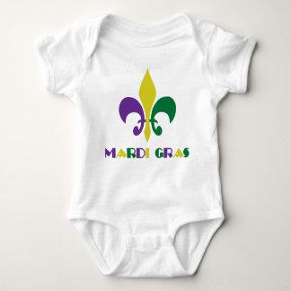 Mardi Gras ~ Fleur De Lis Baby Bodysuit