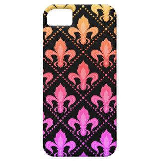 Mardi Gras Fleur De Lis iPhone 5 Cases