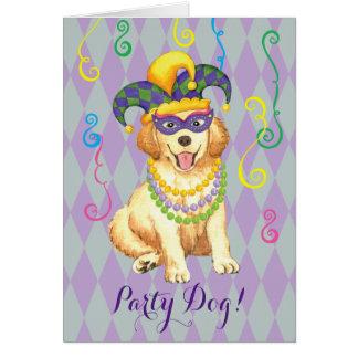 Mardi Gras Golden Card
