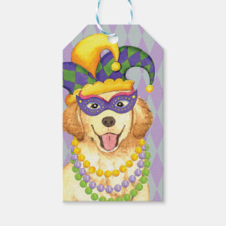 Mardi Gras Golden Gift Tags