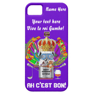 Mardi Gras Gumbo King View Hints please iPhone 5 Covers