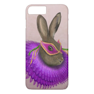 Mardi Gras Hare 4 iPhone 7 Plus Case