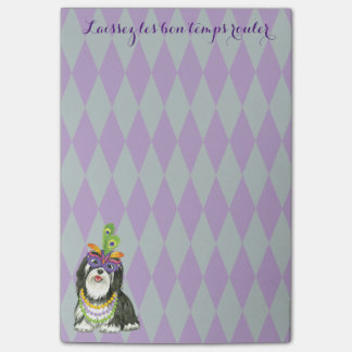 Mardi Gras Havanese Post-it® Notes