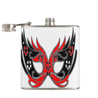 Mardi Gras Hip Flask