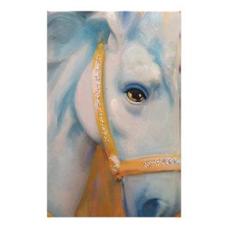 Mardi Gras Horse Customized Stationery