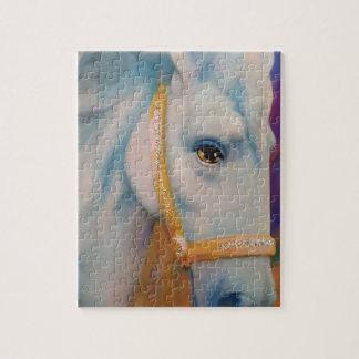 Mardi Gras Horse Jigsaw Puzzle