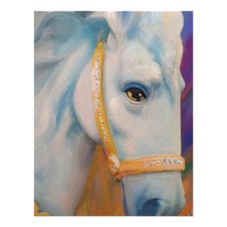 Mardi Gras Horse Personalized Letterhead