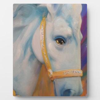 Mardi Gras Horse Plaque