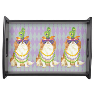Mardi Gras Japanese Chin Serving Tray