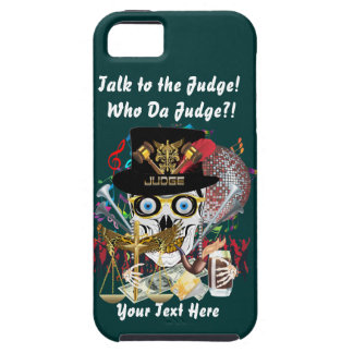Mardi Gras Judge 2 Customize Resize if Needed iPhone 5 Cover